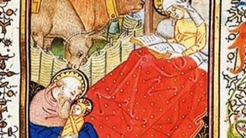 La Vergine lettrice: storia di un'immagine