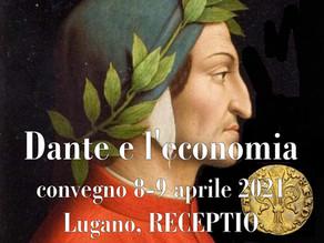 Dante e l'economia. Un grande convegno a Lugano nel 2021 per riflettere sull'utopia dantesca