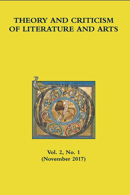 Theory & Criticism of Literature & Arts, Academic Journal (Issue November 2017)