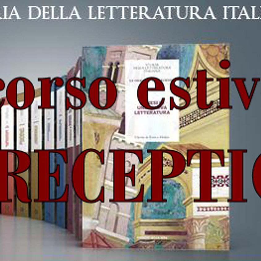 [via Meet/in presenza] Corso estivo: la letteratura italiana dalle origini al Novecento