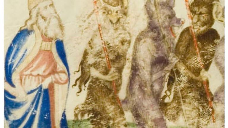 I codici miniati della Divina Commedia