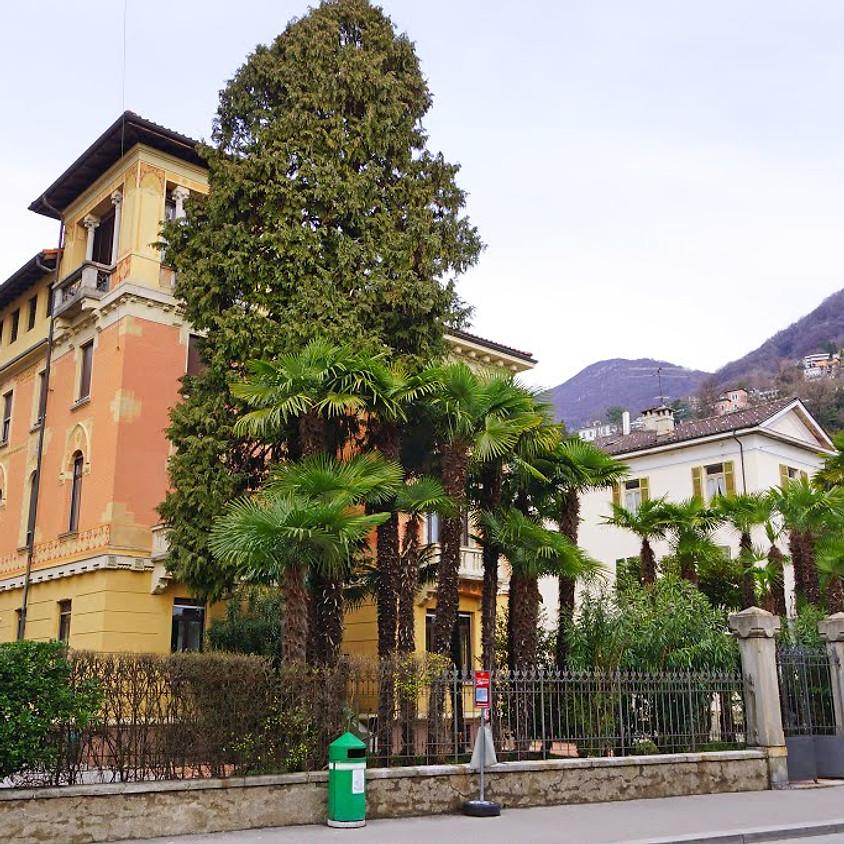 Inaugurazione del centro presso Villa Giambonini