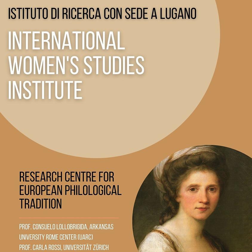 Presentazione dell'International Women's Studies Institute di Lugano