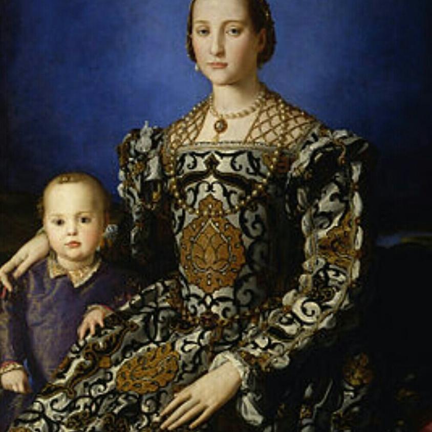 Eleonora da Toledo, la corte medicea e il Bronzino