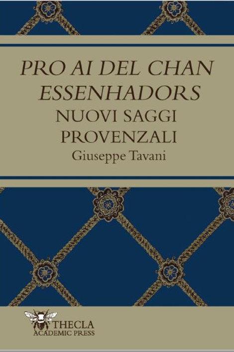 PRO AI DEL CHAN ESSENHADORS, G. Tavani
