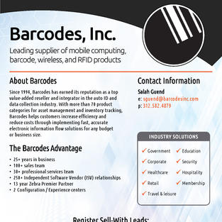 Barcodes, Inc. Overview