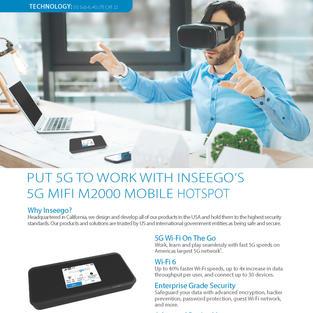 5G MiFi M2000 Hotspot