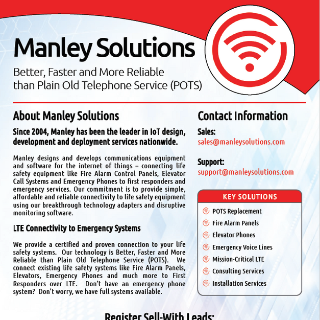 Manley Solutions Overview