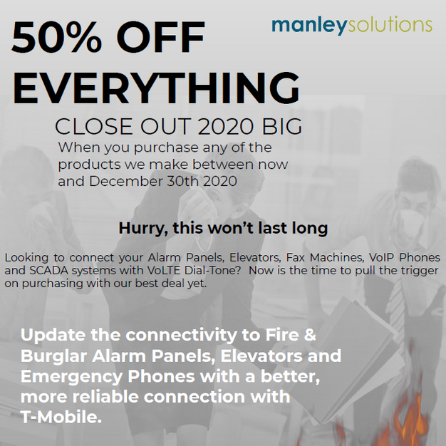 Manley Solutions End of Year Sale