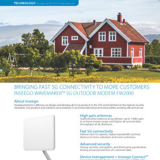 Wavemaker 5G Outdoor Modem FW2000