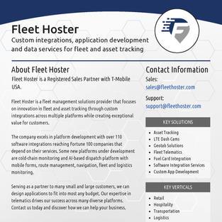 Fleet Hoster Overview