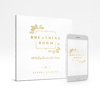 Breathing Room for Women Devotional Book cover