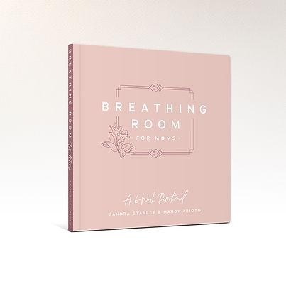 Breathing Room for Moms Devotional Book Cover