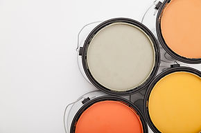 Acrylux Painting paint cans