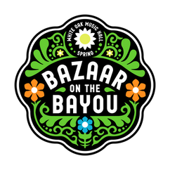 Bazaar on the Bayou Logo for White Oak Music Hall - Mobsolete