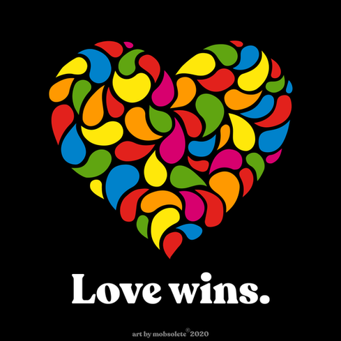 Love Wins by Mobsolete