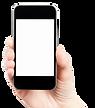 iPhone в руке