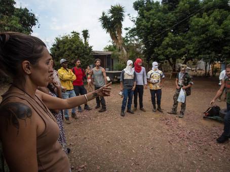 Moradores de Alto Paraíso criam Rede Contra Fogo e lançam campanha em fundo colaborativo que bate re