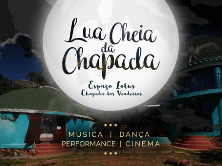 Lua Cheia da Chapada celebra a arte e a vida! Conheça o evento produzido pelo Espaço Lotus que traz