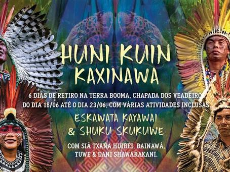 Retiro traz integrantes da tribo Huni Kuin da Amazônia para Chapada dos Veadeiros