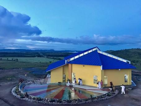 Inaugurado Templo de todas as Religiões pertencente a comunidade GDM em Alto Paraíso