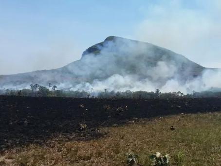Incêndio no Parque Nacional deixa Alto Paraíso em situação de Emergência