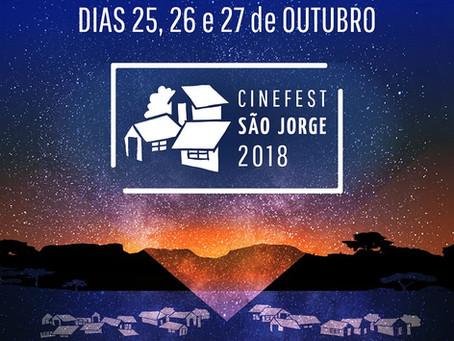 Festival de Cinema em São Jorge d dia 25 a 27 de Outubro traz filmes com mensagens de cunho social,