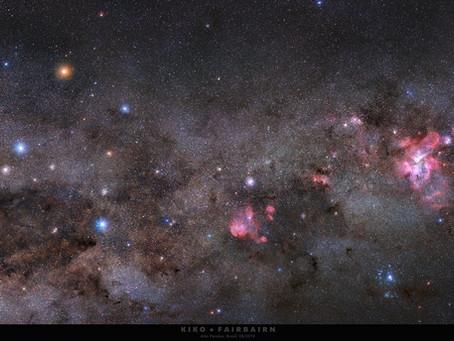 NASA destaca fotografia do espaço capturada em Alto Paraíso de Goiás por fotografo brasileiro