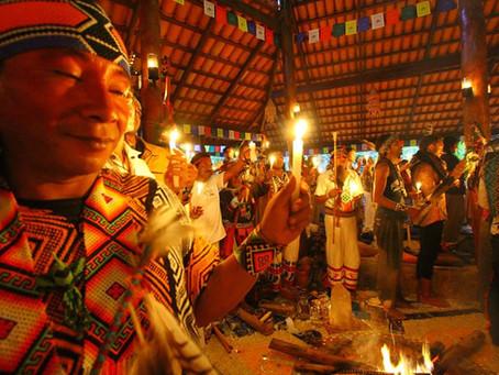 Festival Mãe D'agua de Medicinas Sagradas: Encontro reúne Xamãs indígenas do continente american
