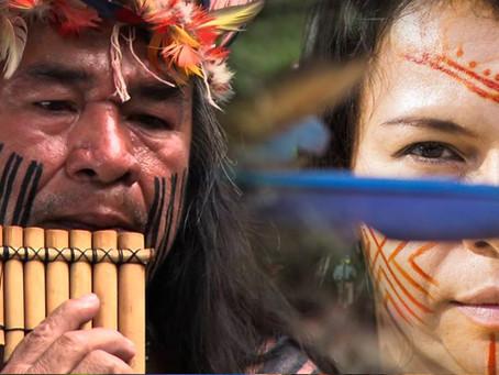 Lideranças do movimento indigenista no Brasil, Alvaro Tukano e Daiara Tukano vem a Alto Paraíso comp