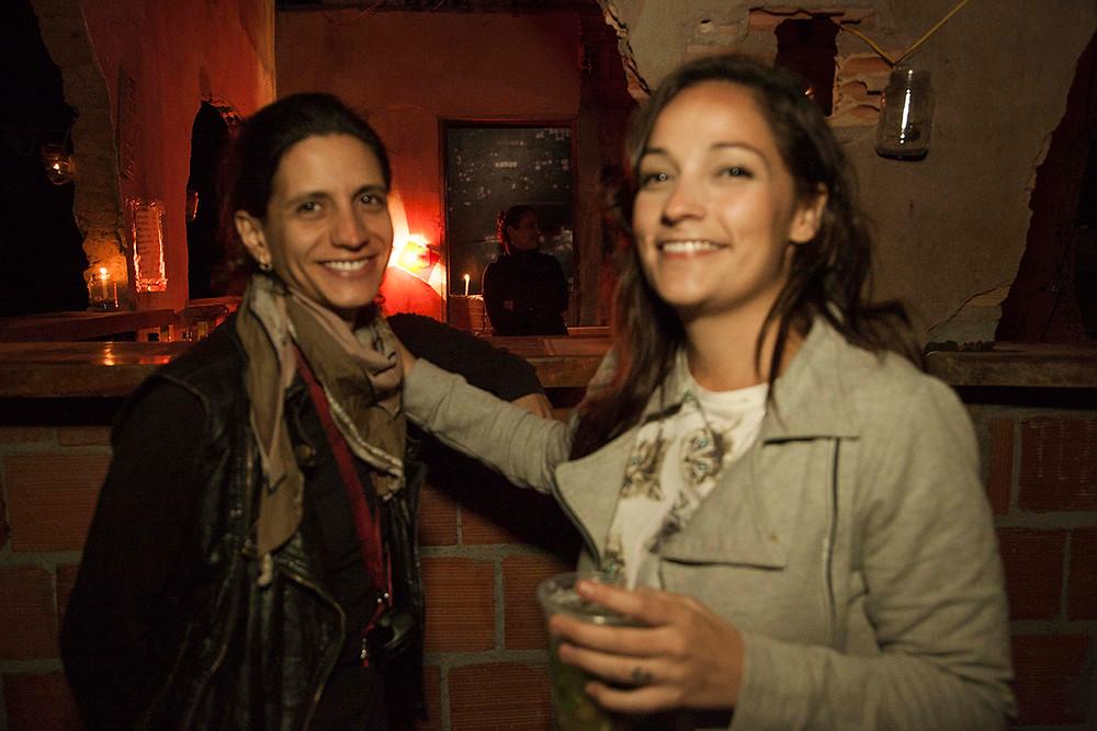 Juliana Nallini e Renata Galletti em ação no YellowFest 2015