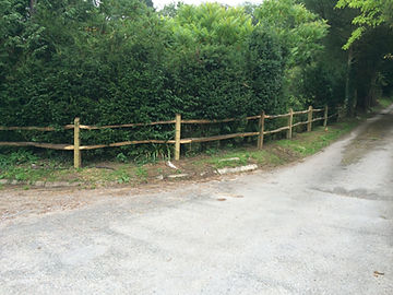 cleft chesnut fencing