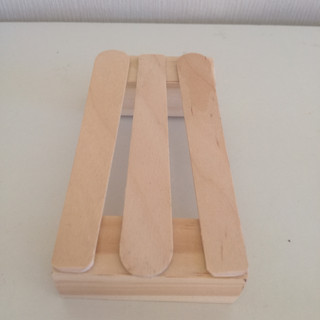 Upcycled Wooden Soap Dish