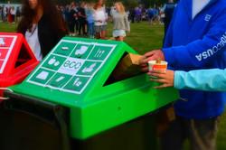 a_Eco packaging disposal in custom bins