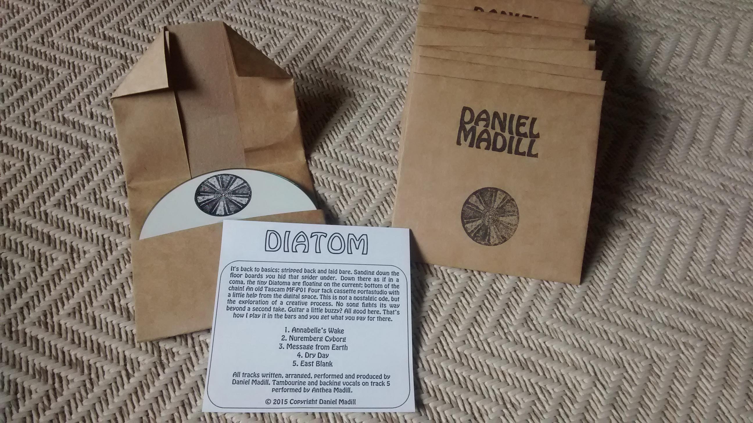 Diatom EP Daniel Madill