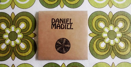 Daniel Madill Diatom EP designed by Anthea Madill