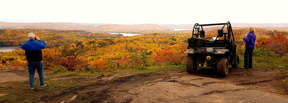 scenic lookout fall colours