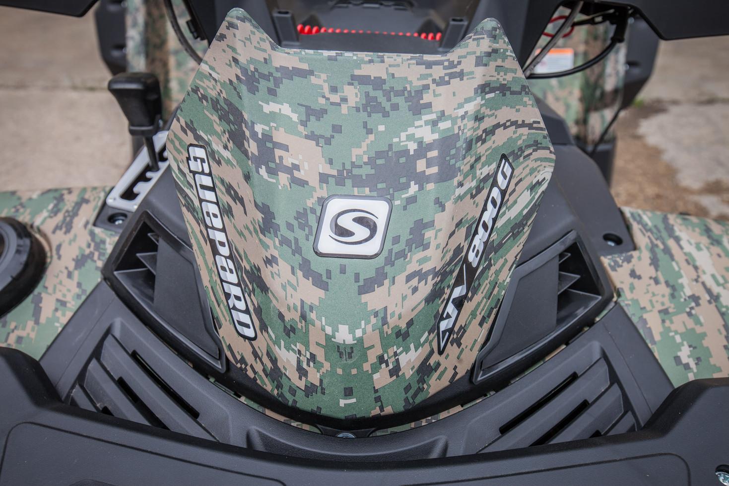 Ruská verze v barvě Military Camo
