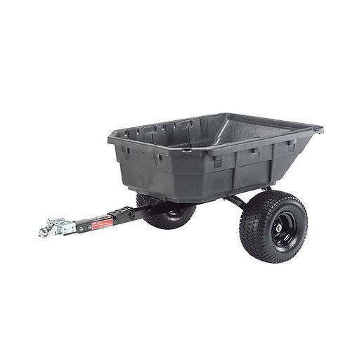 Odolný sklápěcí vozík s vyklápěcí a vytáčející se korbou