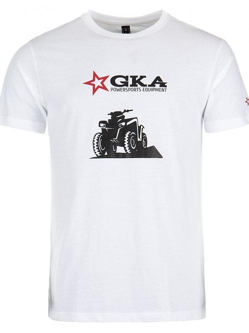 Tričko GKA Powersports-Bílé