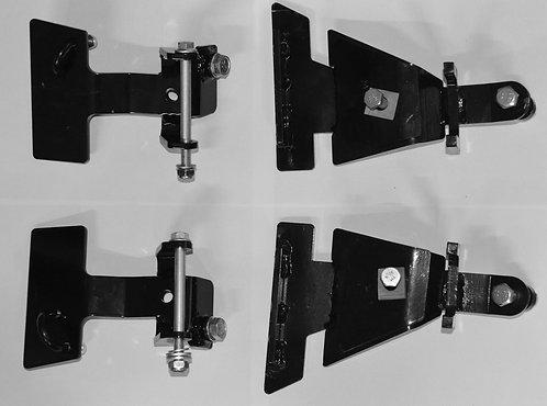 Sada adapterů pro montáž sněhových pásů