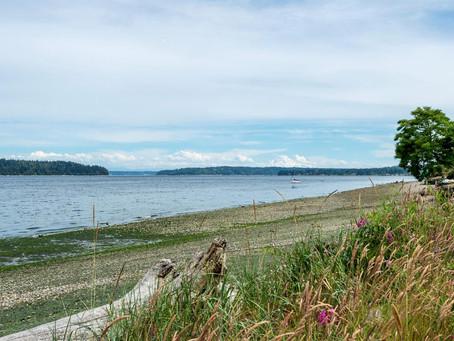 FEATURED: Private Beach + Seattle Skyline Views!