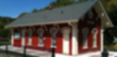 "6"" Half Round Gutter, Howell Historical Train Depot"