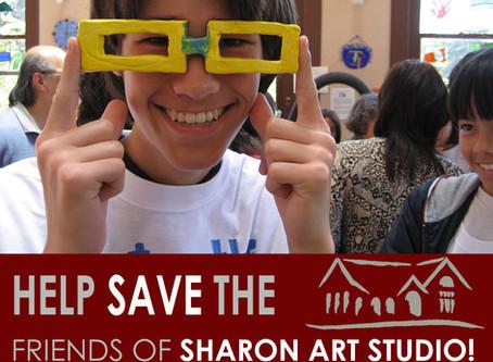 Help Save Friends of Sharon Art Studio!