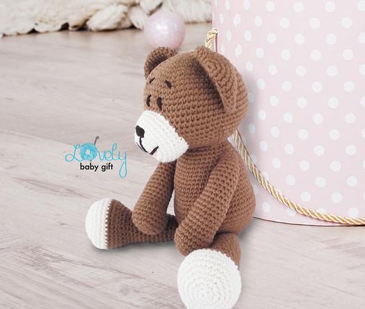 teddy bear easy amigurumi pattern
