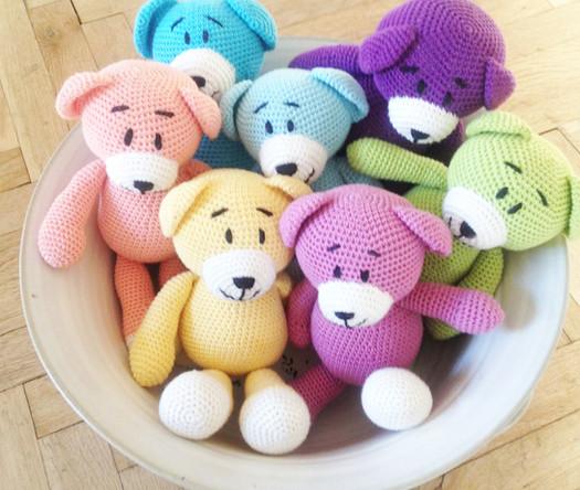 crochet bear amigurumi pattern