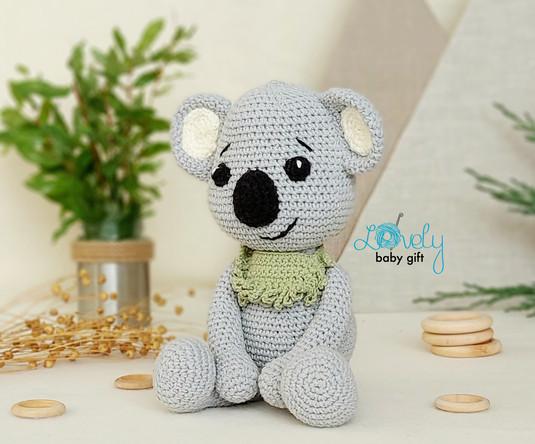 cute koala crochet pattern