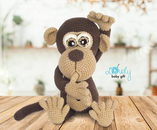 crochet animal monkey amigurumi pattern