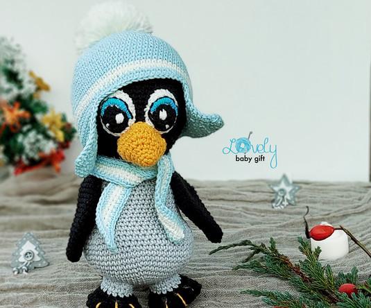 Crochet penguin amigurumi pattern