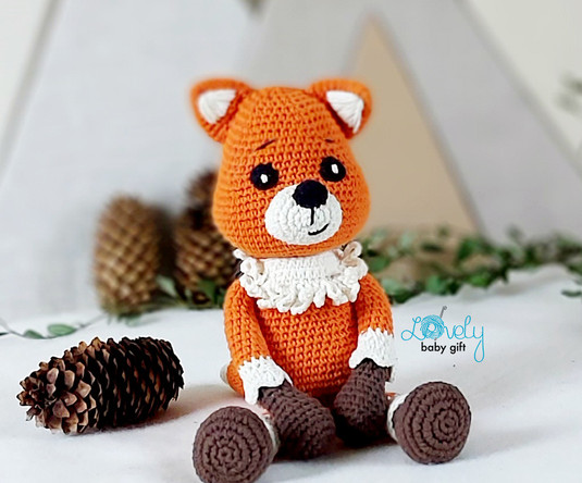 amigurumi fox easy crochet pattern